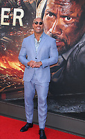 NEW YORK, NY July 10, 2018 Dwayne Johnson attend Legendary &amp; Universal Picture present the premiere of Skyscraper   at the AMC Loews Lincoln Square 13 in New York. July 10, 2018 <br /> CAP/MPI/RW<br /> &copy;RW/MPI/Capital Pictures