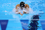 Satomi Suzuki  (JPN), <br /> AUGUST 12, 2016 - Swimming : <br /> Women's 4x100m Medley Relay Heat <br /> at Olympic Aquatics Stadium <br /> during the Rio 2016 Olympic Games in Rio de Janeiro, Brazil. <br /> (Photo by Yohei Osada/AFLO SPORT)