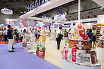 Visitors gather at the Tokyo Gift Show exhibition on September 7, 2016, Tokyo, Japan. The 82nd Tokyo International Gift Show Autumn 2016 exhibition introduced Japanese and international goods from 2,729 companies, 686 of which came from 19 different countries outside of Japan, over three days from September 7th to 9th at Tokyo Big Sight. (Photo by Rodrigo Reyes Marin/AFLO)