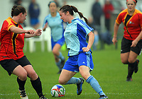 Action from the Women's Central League football match between Seatoun and Stop Out at Seatoun Park in Wellington, New Zealand on Saturday, 29 April 2017. Photo: Dave Lintott / lintottphoto.co.nz