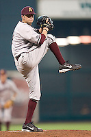 Arizona State starting pitcher Joey Parigi (4) in action versus Vanderbilt at the 2007 Houston College Classic at Minute Maid Park in Houston, TX, Saturday, February 10, 2007.  The Commodores defeated the Sun Devils 7-6 in 10 innings.