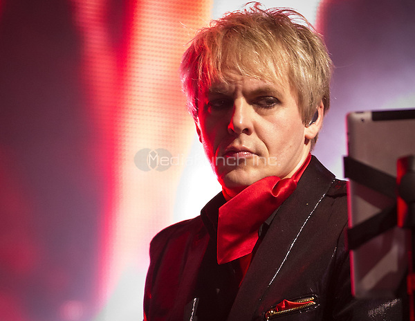 Duran Duran performs at The Joint at Hard Rock Hotel & Casino in Las Vegas, NV on September 30, 2011. © Erik Kabik / MediaPunch.***HOUSE COVERAGE***