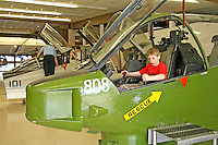 People touring National Museum of Naval Aviation Pensacola Florida