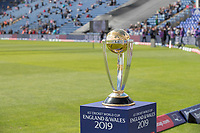 \The 2019 ICC Cricket World Cup Trophy on display at Sophia Gardens before England vs Bangladesh, ICC World Cup Cricket at Sophia Gardens Cardiff on 8th June 2019