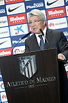 Atletico de Madrid's President Enrique Cerezo. July 14, 2016. (ALTERPHOTOS/Acero)