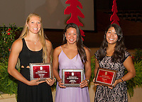 Stanford, CA - June 12, 2014.  Stanford Athletic Board 2014 Awards Ceremony at Bing Concert Hall on the Stanford Campus.