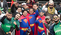 The fans were eventually frustrated by the weather, but remained in great humour throughout the day during Pakistan vs Sri Lanka, ICC World Cup Cricket at the Bristol County Ground on 7th June 2019