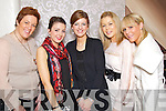 Pictured at the Fashion Show in the Earl of Desmond Hotel on Thursday night, were from left: Claire Dempsey, Una Brosnan, Karen Brosnan, Kelly-Ann Rowntree and Louise Quill.