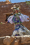 Navajo man dancing along the South Rim in Grand Canyon National Park, Arizona . John offers private photo tours in Grand Canyon National Park and throughout Arizona, Utah and Colorado. Year-round.