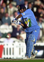 09/07/2002 - Tue.Sport - Cricket-  NatWest Series - Eng vs India Oval.India batting - Sachin Tendulka and Ajay Ratra