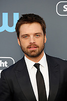 Sebastian Stan attends the 23rd Annual Critics' Choice Awards at Barker Hangar in Santa Monica, Los Angeles, USA, on 11 January 2018. Photo: Hubert Boesl - NO WIRE SERVICE - Photo: Hubert Boesl/dpa /MediaPunch ***FOR USA ONLY***
