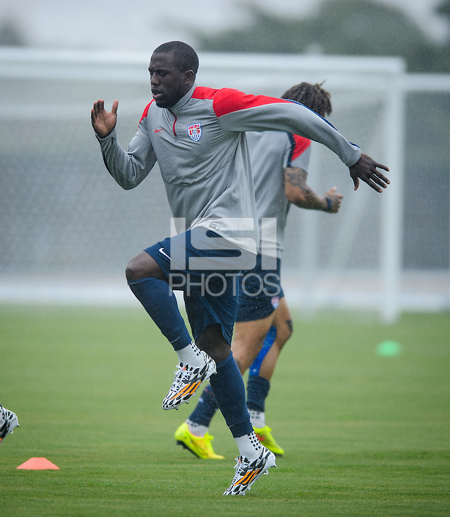 Natal, Brazil - Saturday. June 14, 2014: The USMNT training session before it's World Cup match with Ghana.