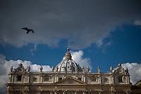 Una veduta della Basilica di San Pietro