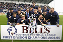 07/05/2005         Copyright Pic : James Stewart.File Name : jspa15_falkirk_v_qots.THE FALKIRK TEAM CELEBRATE LIFTING THE TROPHY.Payments to :.James Stewart Photo Agency 19 Carronlea Drive, Falkirk. FK2 8DN      Vat Reg No. 607 6932 25.Office     : +44 (0)1324 570906     .Mobile   : +44 (0)7721 416997.Fax         : +44 (0)1324 570906.E-mail  :  jim@jspa.co.uk.If you require further information then contact Jim Stewart on any of the numbers above.........A