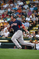 Boston Red Sox Kevin Heller (85) during a Spring Training game against the Pittsburgh Pirates on March 12, 2015 at McKechnie Field in Bradenton, Florida.  Boston defeated Pittsburgh 5-1.  (Mike Janes/Four Seam Images)