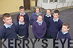 COUNCIL: Members of the new Student Council for 2011-2012 at St Joseph's Secondary School in Ballybunion, front l-r: Ian Mannix, Shannon O'Mahony, Ellis Barry, Jack Gogarty, Mikey Jones. Back l-r: Cian Mahony, Jessica Keane, Meadhbh Griffin.