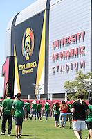 Photo before the match Mexico vs Uruguay, Corresponding Group -C- America Cup Centenary 2016, at University of Phoenix Stadium<br /> <br /> Foto previo al partido Mexico vs Uruguay, Correspondiante al Grupo -C-  de la Copa America Centenario USA 2016 en el Estadio de la Universidad de Phoenix, en la foto: Estadio Universidad de Phoenix<br /> <br /> <br /> 05/06/2016/MEXSPORT/Omar Martinez.