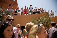 JUNE 7, 2008; ESSAOUIRA, MOROCCO; Ilse and Edouard wedding celebration. Photo by Matt May