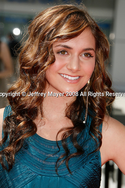LOS ANGELES, CA. - September 13: Actress Alyson Stoner arrives at the 60th Primetime Creative Arts Emmy Awards held at Nokia Theatre on September 13, 2008 in Los Angeles, California.