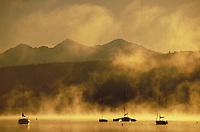 Sailboats at the Frisco Marina, Dillon Reservoir, Summit County, CO. Summit County, Colorado.