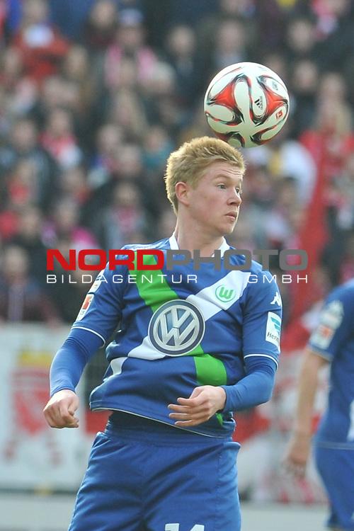 22.03.2015, cofacearena, Mainz, GER, FSV Mainz 05 vs. VfL Wolfsburg, im Bild: Kevin De Bruyne (#14, VfL Wolfsburg)<br /> <br /> Foto &copy; nordphoto / Fabisch