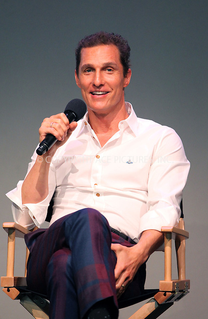 WWW.ACEPIXS.COM....April 21 2013, New York City....Actor Matthew McConaughey at the 'Meet The Filmmakers' event at the Apple Store Soho on April 21, 2013 in New York City. ....By Line: John Peters/ACE Pictures......ACE Pictures, Inc...tel: 646 769 0430..Email: info@acepixs.com..www.acepixs.com