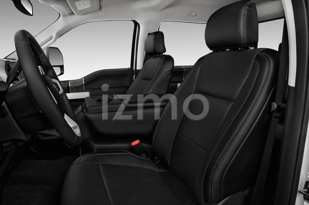 Front seat view of 2017 Ford F-250 Lariat-Crew-Cab 4 Door Pickup Front Seat  car photos
