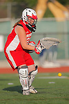 Placentia, CA 05/14/10 - Heather Czech (Redondo #21) in action during the 2010 CIF Girls Lacrosse Championship game between Redondo Union and Los Alamitos, Los Alamitos defeated Redondo 24-7.