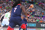 07.09.2014. Barcelona, Spain. 2014 FIBA Basketball World Cup, round of 8. Picture show K. Irving in action during game between Slovenia v Usa at Palau St. Jordi.