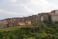 Belesta village in Ariege mountains.