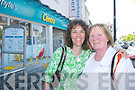 Michaela Enright and Kathleen James, Ballyheigue, looking for bargains in Castleislands wide range of shops..
