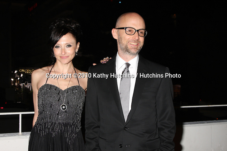 Moby.arriving at the 3rd Annual Art of Elysium Gala.Rooftop of Parking Garage across from Beverly Hilton Hotel.Beverly Hills, CA.January 16, 2010.©2010 Kathy Hutchins / Hutchins Photo....