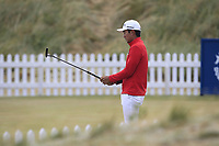 Soomin Lee on the practice green during Round 1 of the Dubai Duty Free Irish Open at Ballyliffin Golf Club, Donegal on Thursday 5th July 2018.<br /> Picture:  Thos Caffrey / Golffile
