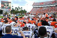 Florida International University Golden Panthers (0-2, 0-0 SBC)  versus the University of Miami Hurricanes (1-1, 0-0 ACC) at the Orange Bowl, Miami, Florida on Saturday, September 15, 2007.  The Hurricanes defeated the Golden Panthers, 23-9..