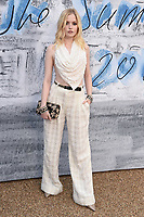 LONDON, UK. June 25, 2019: Ellie Bamber arriving for the Serpentine Gallery Summer Party 2019 at Kensington Gardens, London.<br /> Picture: Steve Vas/Featureflash