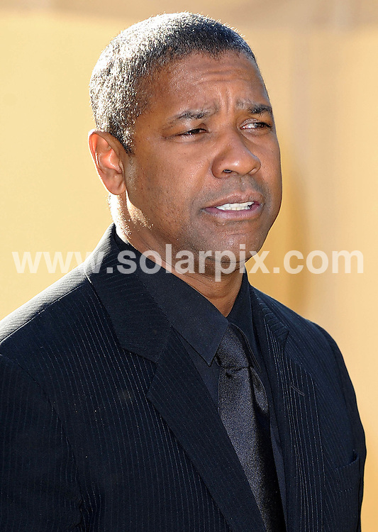 **ALL ROUND PICTURES FROM SOLARPIX.COM**.**WORLDWIDE SYNDICATION RIGHTS**.Guests arrive for the Nelson Mandela Dinner held in Hyde Park in London.         .This pic:Denzel Washington.JOB REF:6730- SSD     DATE:25_06_08.**MUST CREDIT SOLARPIX.COM OR DOUBLE FEE WILL BE CHARGED* *UNDER NO CIRCUMSTANCES IS THIS IMAGE TO BE REPRODUCED FOR ANY ONLINE EDITION WITHOUT PRIOR PERMISSION*