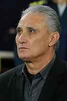 Brazil Manager, Tito during Brazil vs Uruguay, International Friendly Match Football at the Emirates Stadium on 16th November 2018