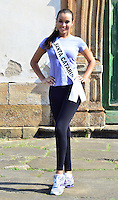 OURO PRETO, MG, 20.09.2013 - MISS BRASIL 2013 - Miss Santa Catarina, Francielle Kloster candidata a Miss Brasil 2013 durante visita a cidade historica de Ouro Preto a 100 km de Belo Horizonte. (Foto: Eduardo Tropia / Brazil Photo Press)