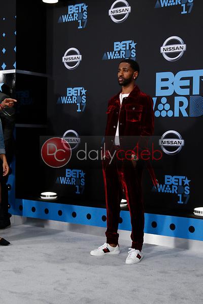 Big Sean<br /> at the BET Awards 2017, Microsoft Theater, Los Angeles, CA 06-25-17<br /> David Edwards/DailyCeleb.com 818-249-4998