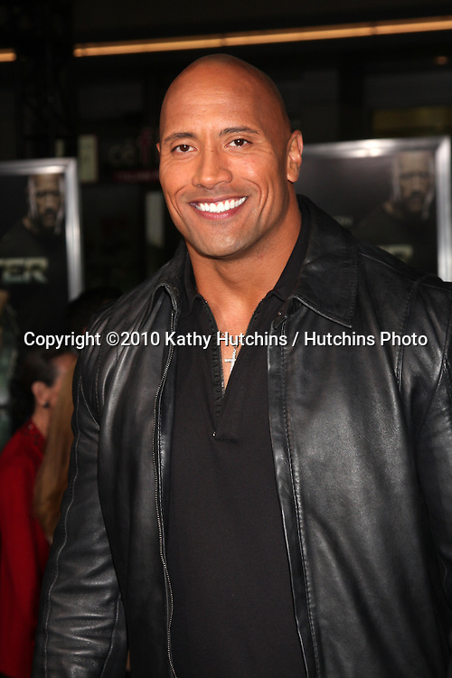 """LOS ANGELES - NOV 22:  Dwayne Johnson, aka """"The Rock"""" arrives at the """"Faster"""" LA Premiere at Grauman's Chinese Theater on November 22, 2010 in Los Angeles, CA"""