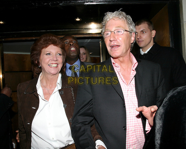 CILLA BLACK & PAUL O'GRADY.Plum Sykes Book Launch.Annabel's Berkeley Square, W1.May 4th, 2004.half length, half-length.www.capitalpictures.com.sales@capitalpictures.com.© Capital Pictures.