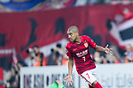 Guangzhou Forward Alan Douglas De Carvalho celebrating his score during the AFC Champions League 2017 Group G match between Guangzhou Evergrande FC (CHN) vs Suwon Samsung Bluewings (KOR) at the Tianhe Stadium on 09 May 2017 in Guangzhou, China. Photo by Yu Chun Christopher Wong / Power Sport Images