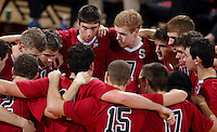 Stanford, CA; Saturday January 26, 2013: Men's Volleyball, Stanford vs UC Santa Barbara.
