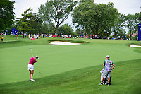 Suzann Pettersen (NOR) watches her appraoch shot on 10 during Thursday's round 1 of the 2017 KPMG Women's PGA Championship, at Olympia Fields Country Club, Olympia Fields, Illinois. 6/29/2017.<br /> Picture: Golffile | Ken Murray<br /> <br /> <br /> All photo usage must carry mandatory copyright credit (&copy; Golffile | Ken Murray)