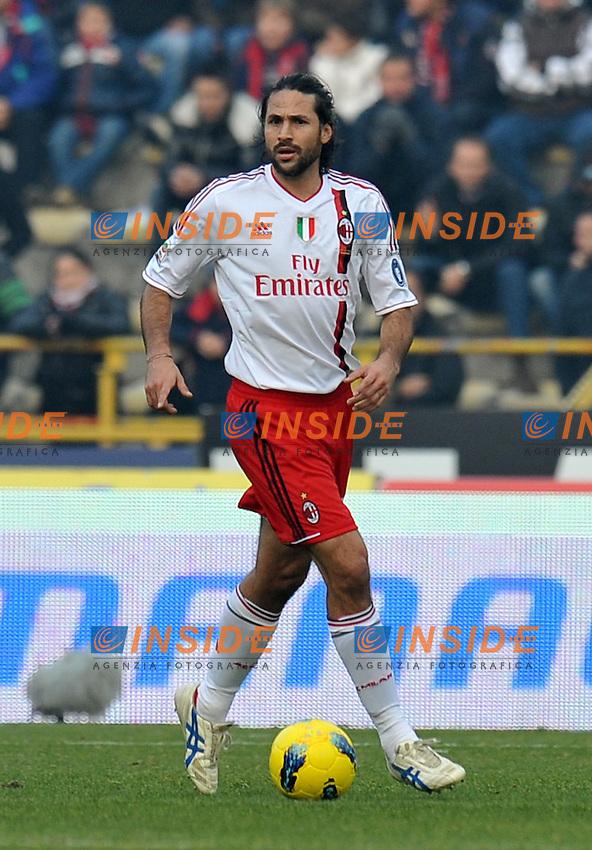 "Mario YEPES (Milan).Bologna 11/12/2011 Stadio ""Renato Dall Ara"".Serie A 2011/2012.Football Calcio Bologna Vs Milan.Foto Insidefoto Alessandro Sabattini."