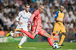 Goalkeeper Boy Waterman of APOEL FC in action during the UEFA Champions League 2017-18 match between Real Madrid and APOEL FC at Estadio Santiago Bernabeu on 13 September 2017 in Madrid, Spain. Photo by Diego Gonzalez / Power Sport Images