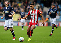 Ollie Watkins of Brentford in action during Millwall vs Brentford, Sky Bet EFL Championship Football at The Den on 10th March 2018