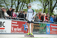 INLINE-SKATEN: HEERDE: Skeeler- en Skatecentrum Hoornscheveen, Europa Cup/Univé Skate Off, 05-05-2012, Wim Dillen (#4 | Junior A), ©foto Martin de Jong