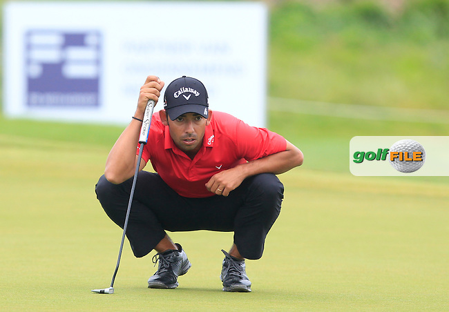 Pablo Larrazabal (ESP) on the 6th green during Round 4 of the 2016 KLM Open at the Dutch Golf Club at Spijk in The Netherlands on  Sunday 11/09/16.<br /> Picture: Thos Caffrey | Golffile