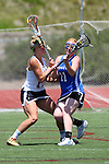 San Diego, CA 05/21/11 - Rachel Bokmeyer (Rancho Bernardo #11) and Caroline Boucher (Torrey Pines #11) in action during the 2011 CIF San Diego Section Division 1 Championship game between Rancho Bernardo and Torrey Pines.